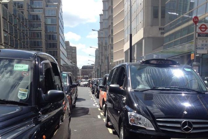 Taxi protests
