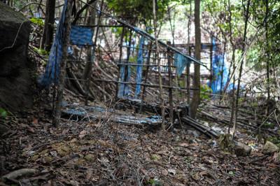 Malaysia jungle camp migrants