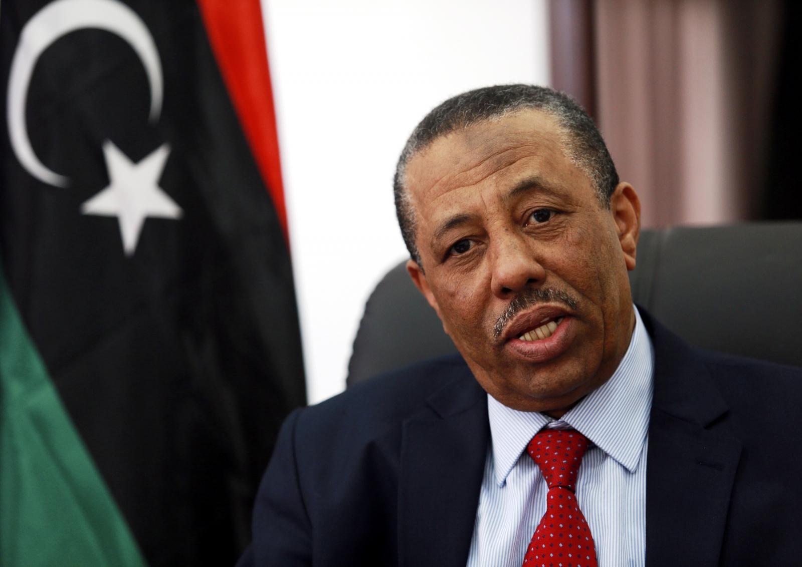 Prime Minister Abdullah al-Thinni