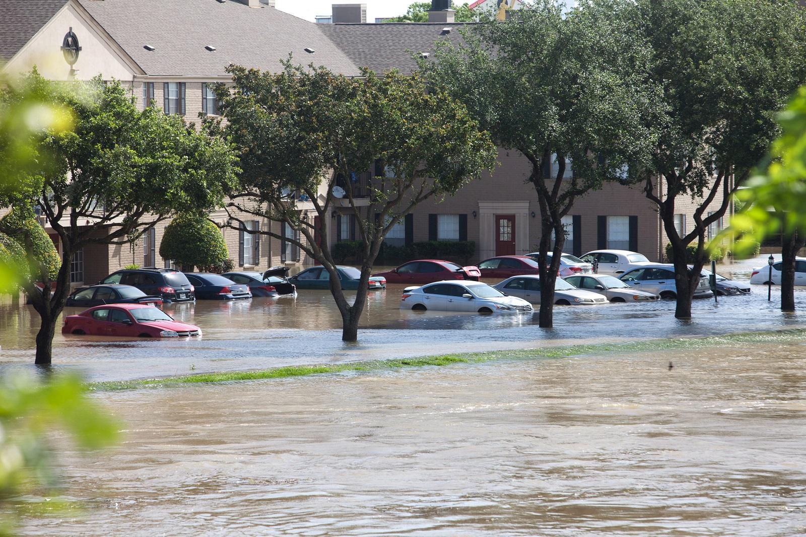 Storms in Houston, Texas