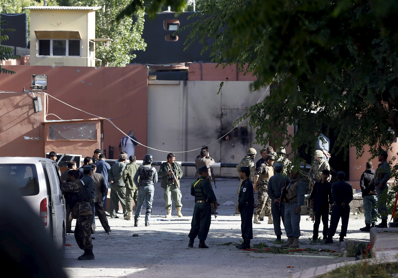 Afghan Taliban attack on Kabul guest house