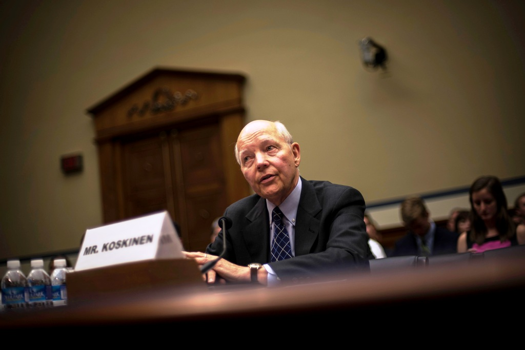 US IRS Boss John Koskinen