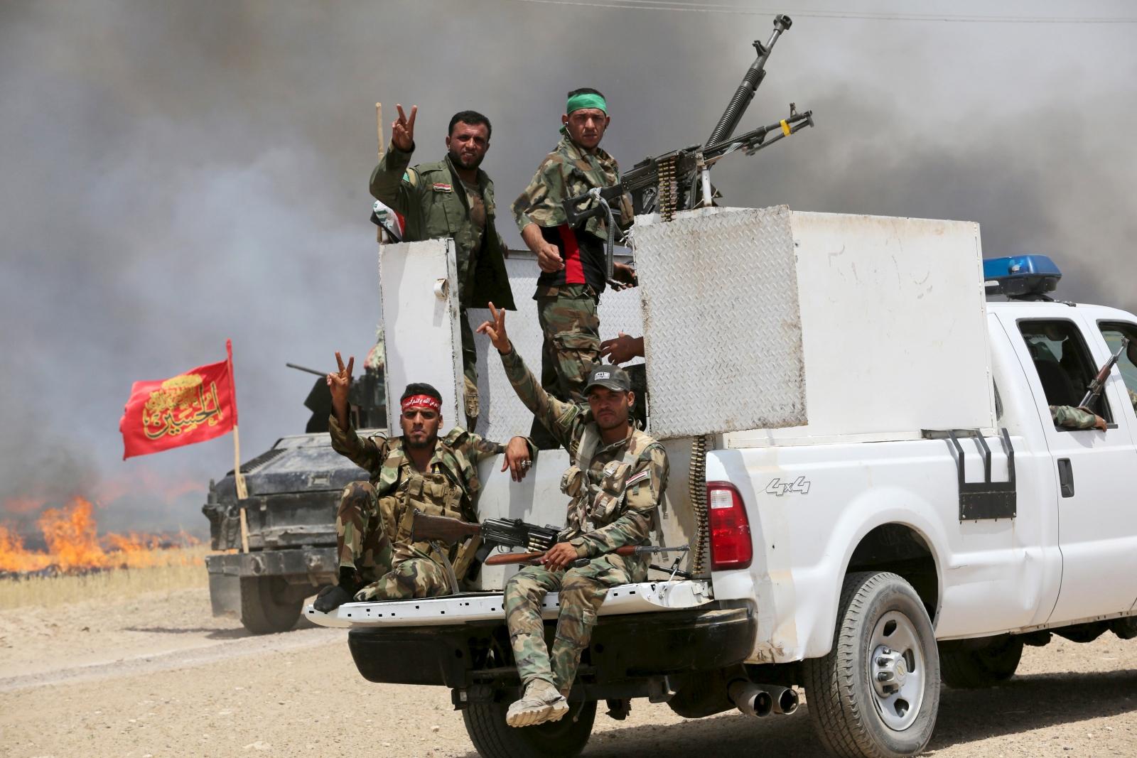 Iraq sandstorm Isis