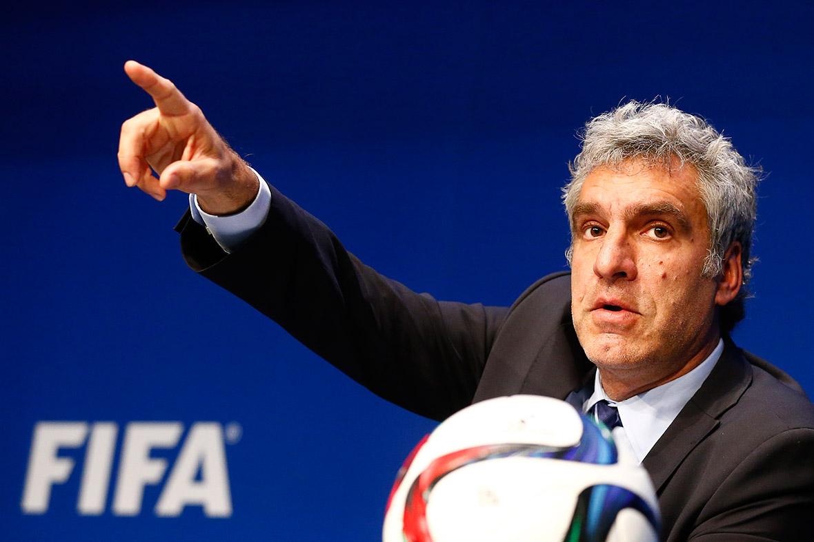 Fifa arrestd