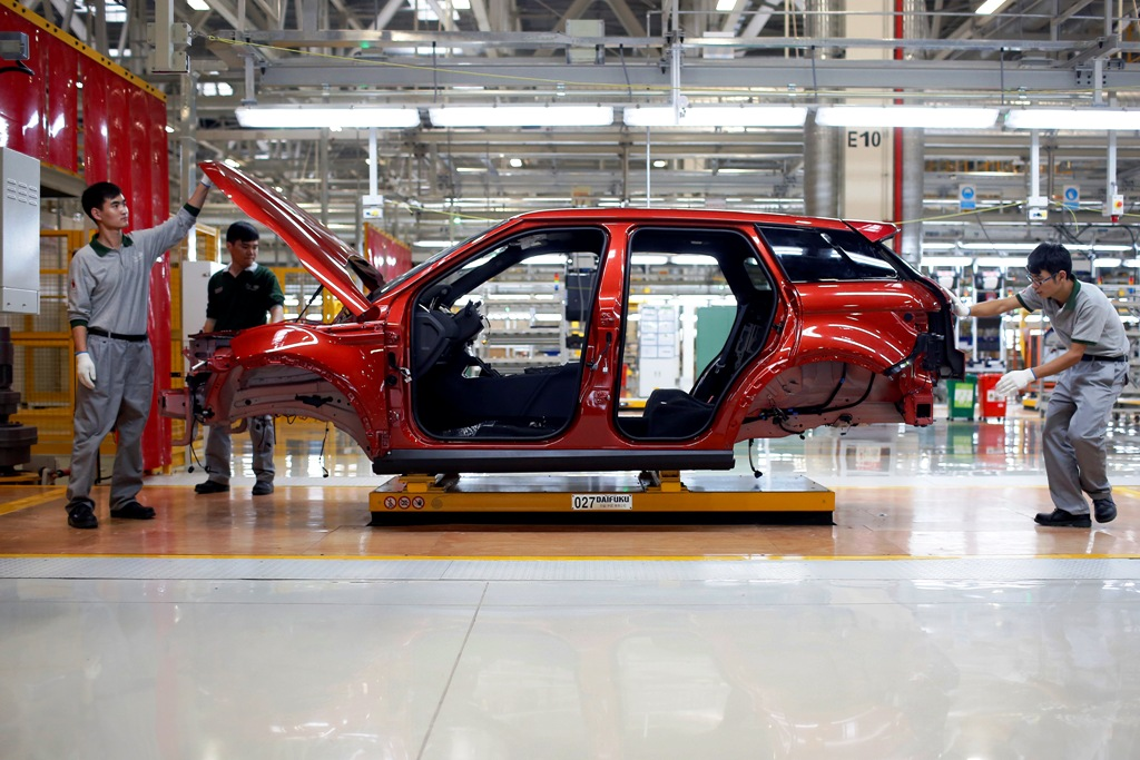 Chery JLR Factory in China