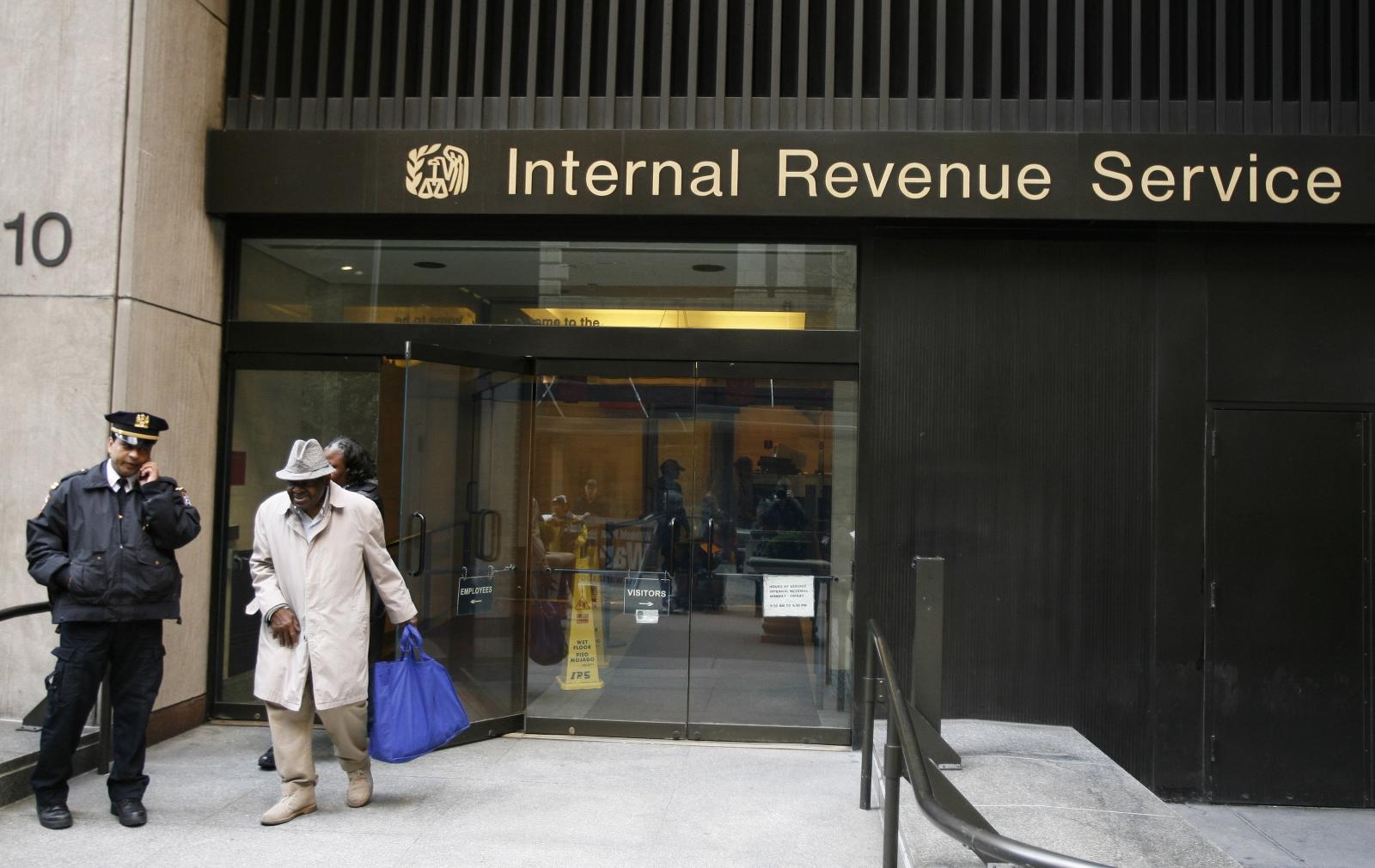 The IRS (US Inland Revenue Service)