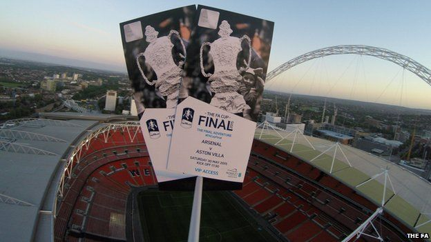 FA Cup final tickets space