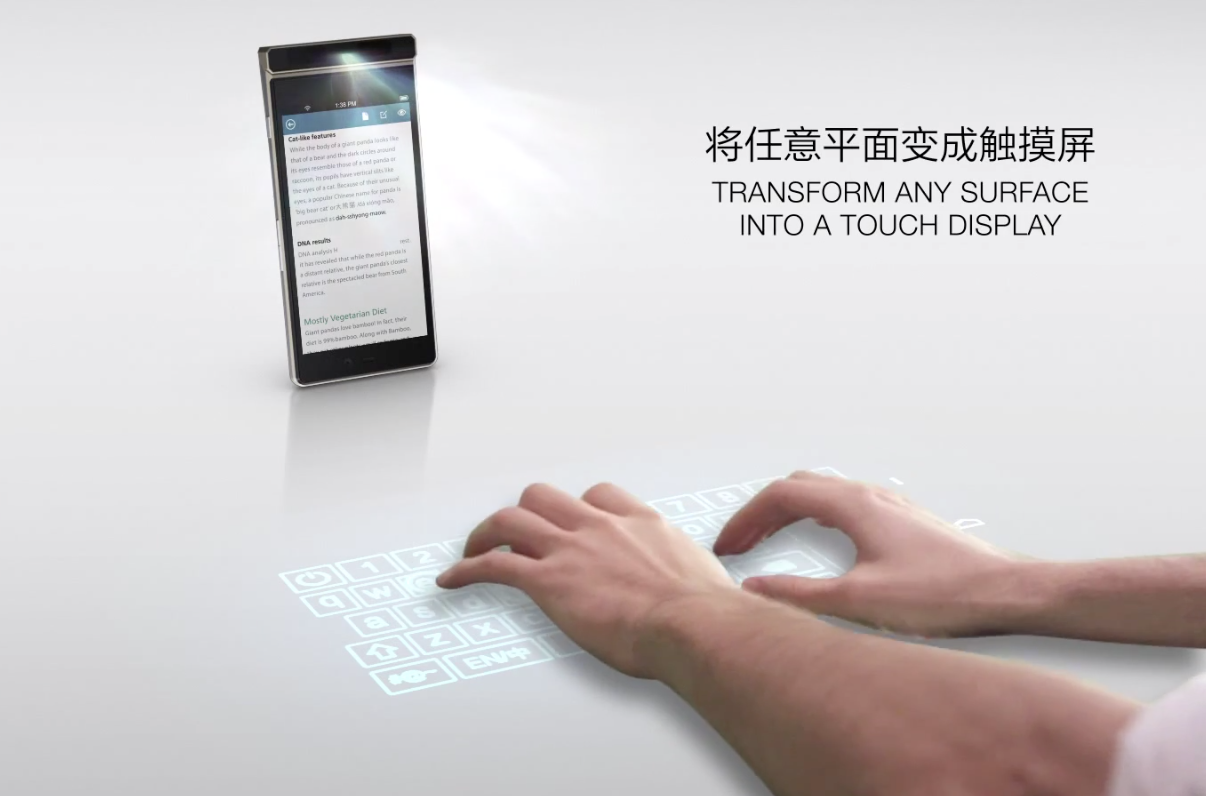 Lenovo Smart Cast The Smartphone With A Projector To Turn