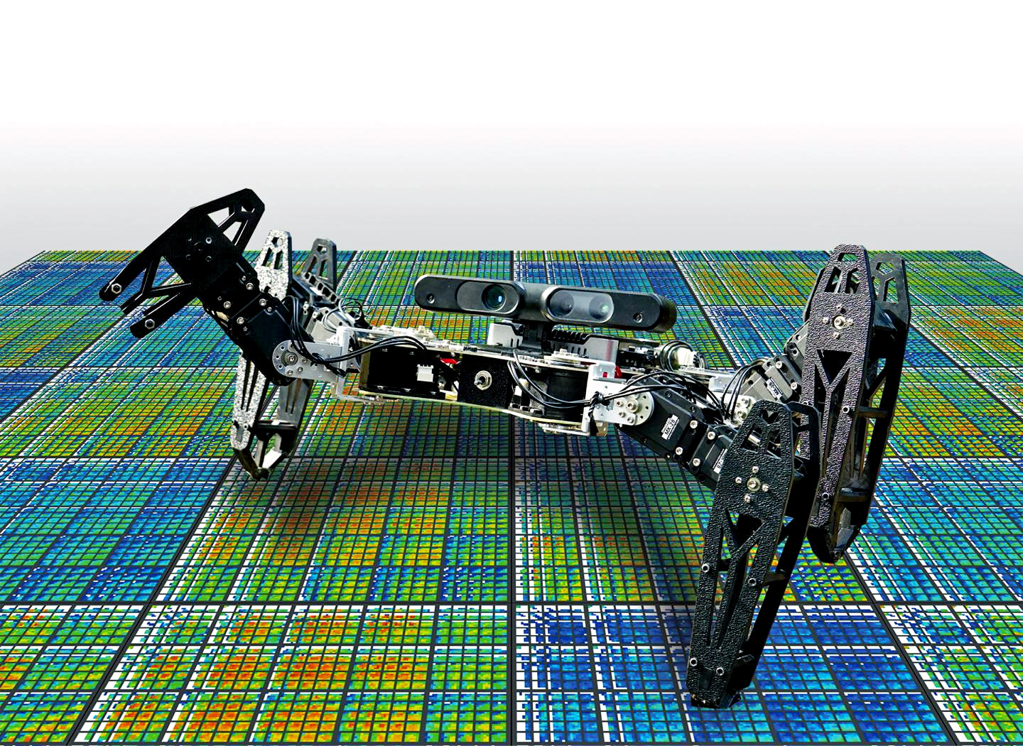 This robot can adapt to injuries