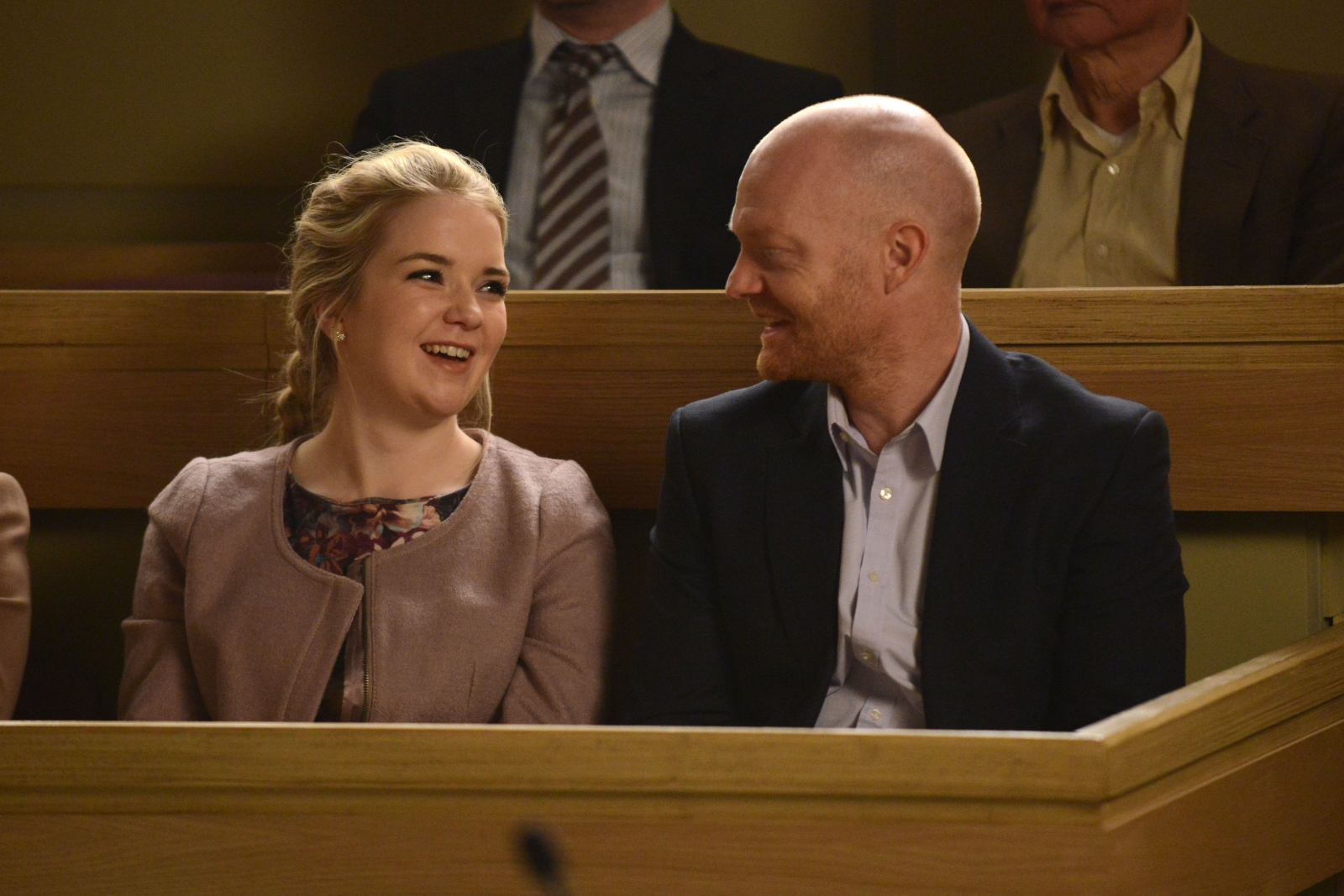 EastEnders' Max and Abi Branning