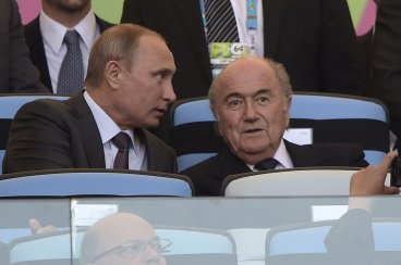 Vladimir Putin Sepp Blatter