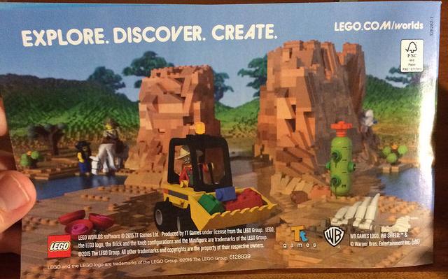 Lego Worlds Leak E3 Minecraft
