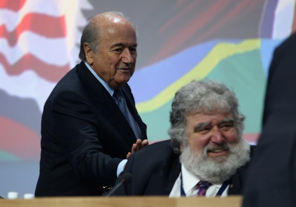 Sepp Blatter and Chuck Blazer