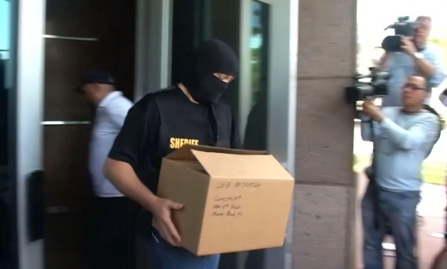 FBI raid concacaf