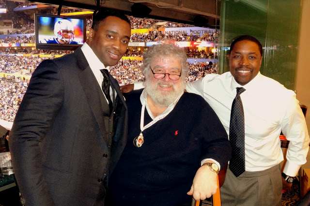 Curtis Martin and Chuck Blazer