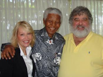 Nelson Mandela and Chuck Blazer