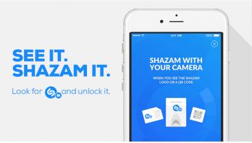 Shazam visual recognition