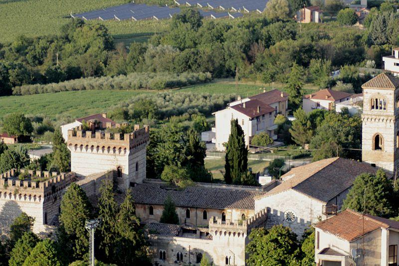San Girolamo castle Narni