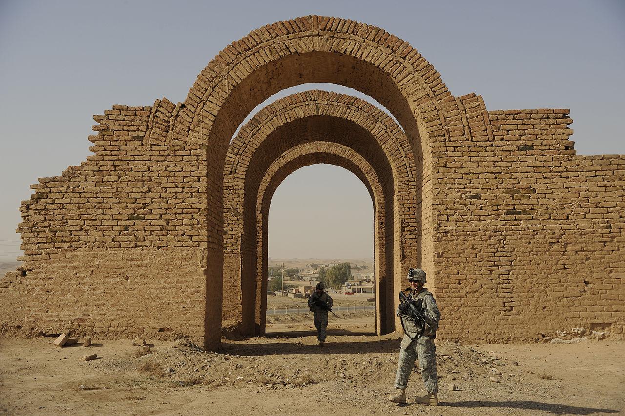 Ashur Iraq blown up