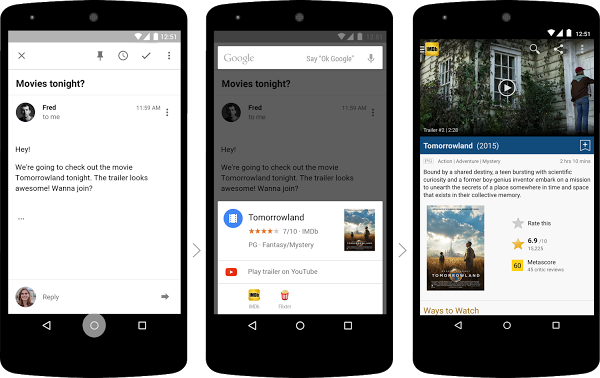 Google Now updated