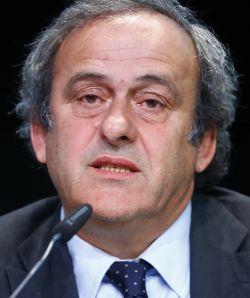 Michel Platini urges Sepp Blatter to quit