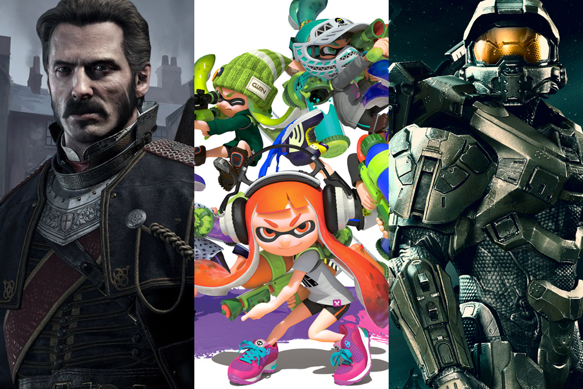 UK Video Game Deals Splatoon Order Halo