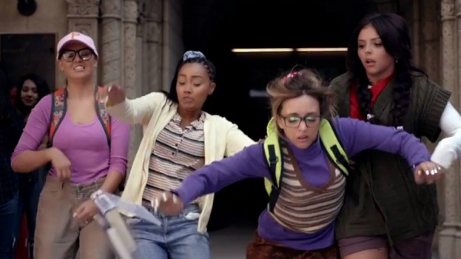 Little Mix in Black Magic
