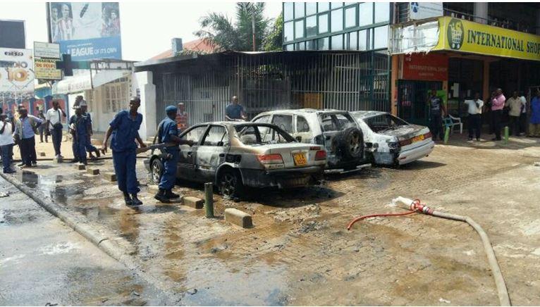 Burundi grenade explosion economy