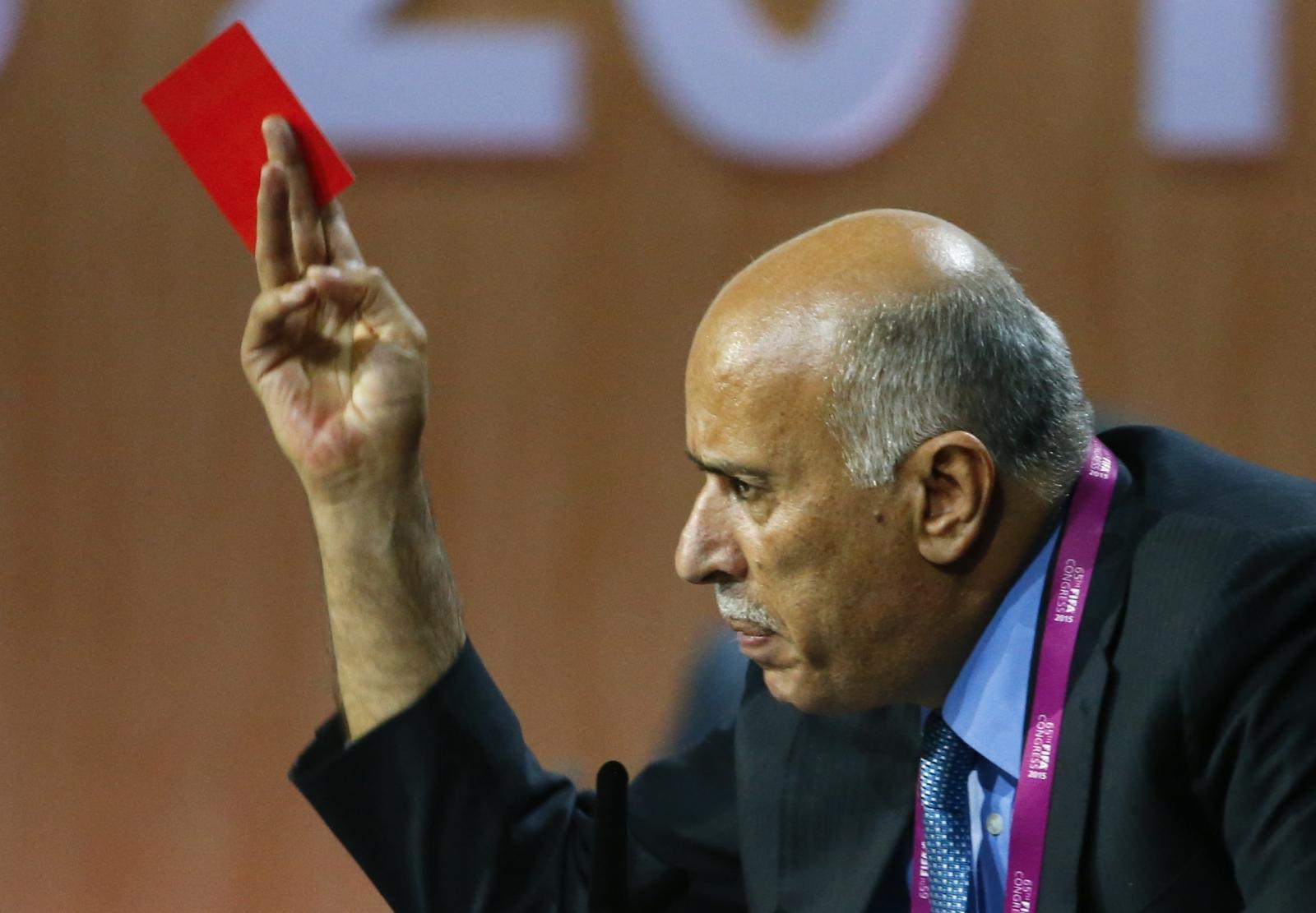 Fifa israel suspension