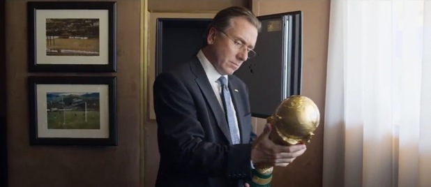 Tim Roth as Sepp Blatter