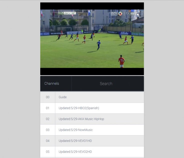 cCloud TV is also livestreaming beIN Sports