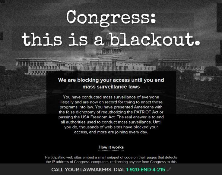 Activists want an end to mass surveillance