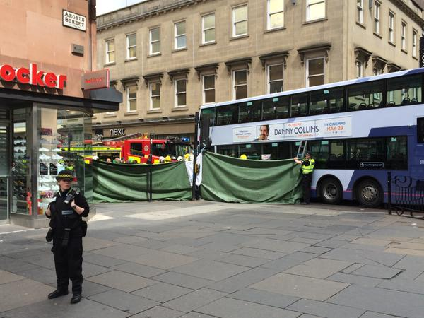 Glasgow bus accident