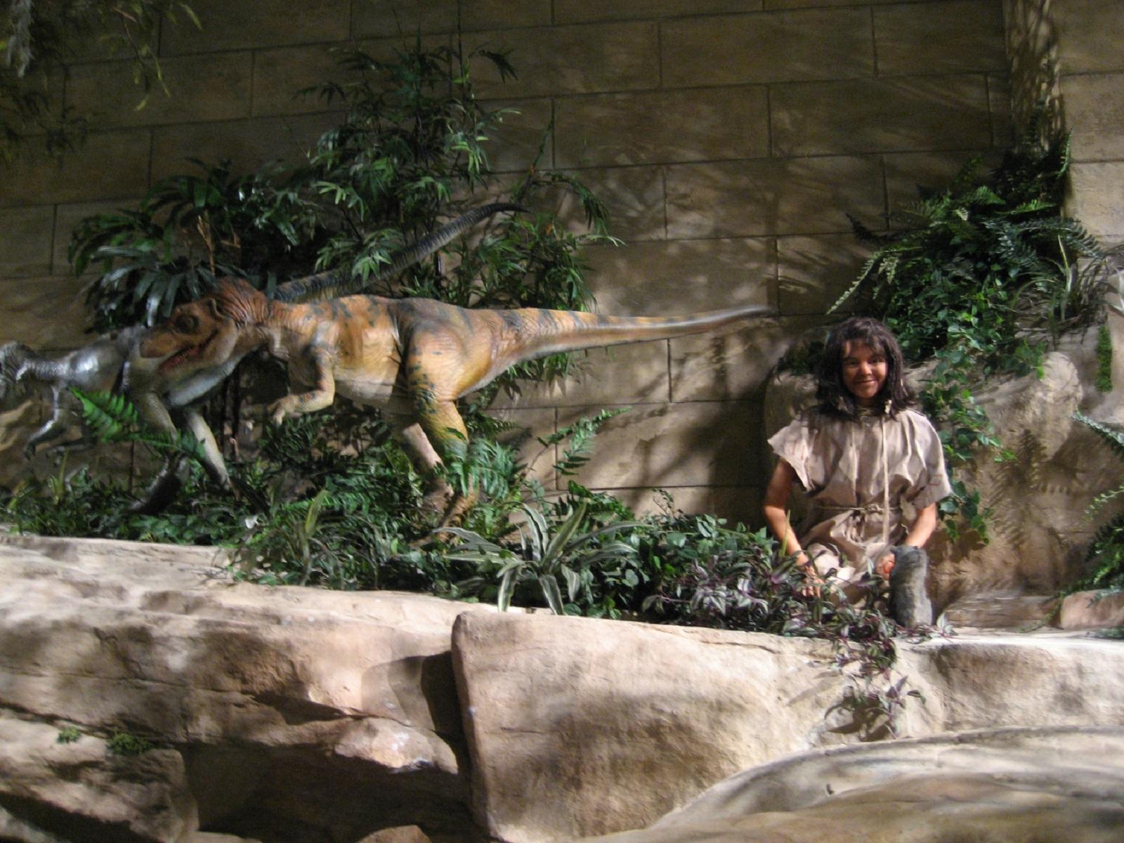 Creationist museum piece