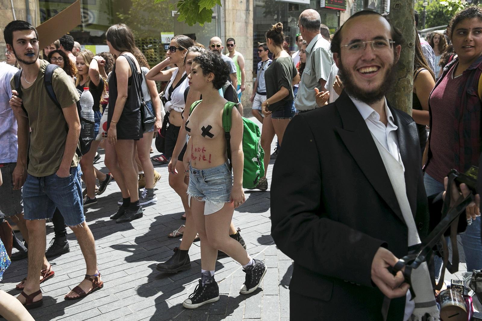Jerusalem SlutWalk2