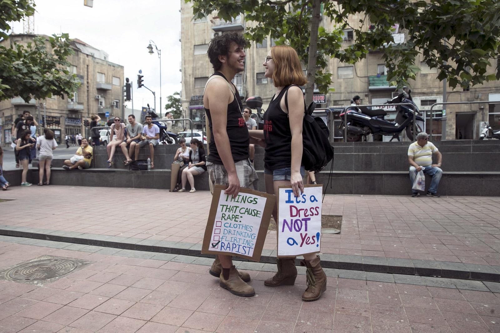 Jerusalem SlutWalk 7