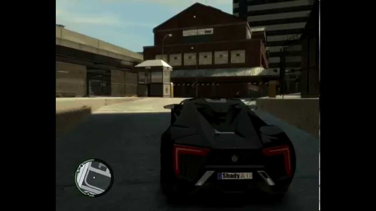 GTA 5 Lykan Hypersport