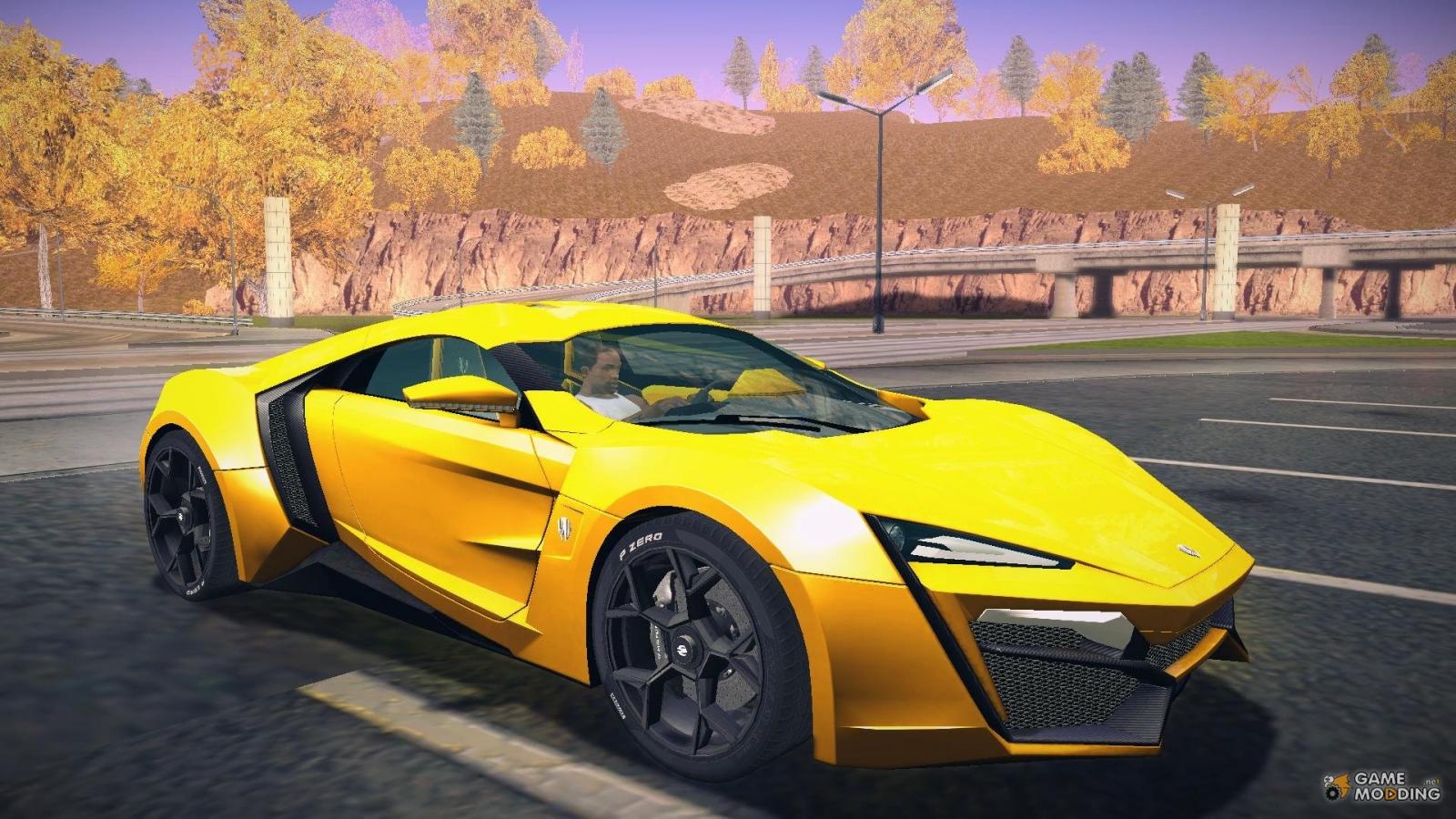 GTA 5 Lykan Hypersport