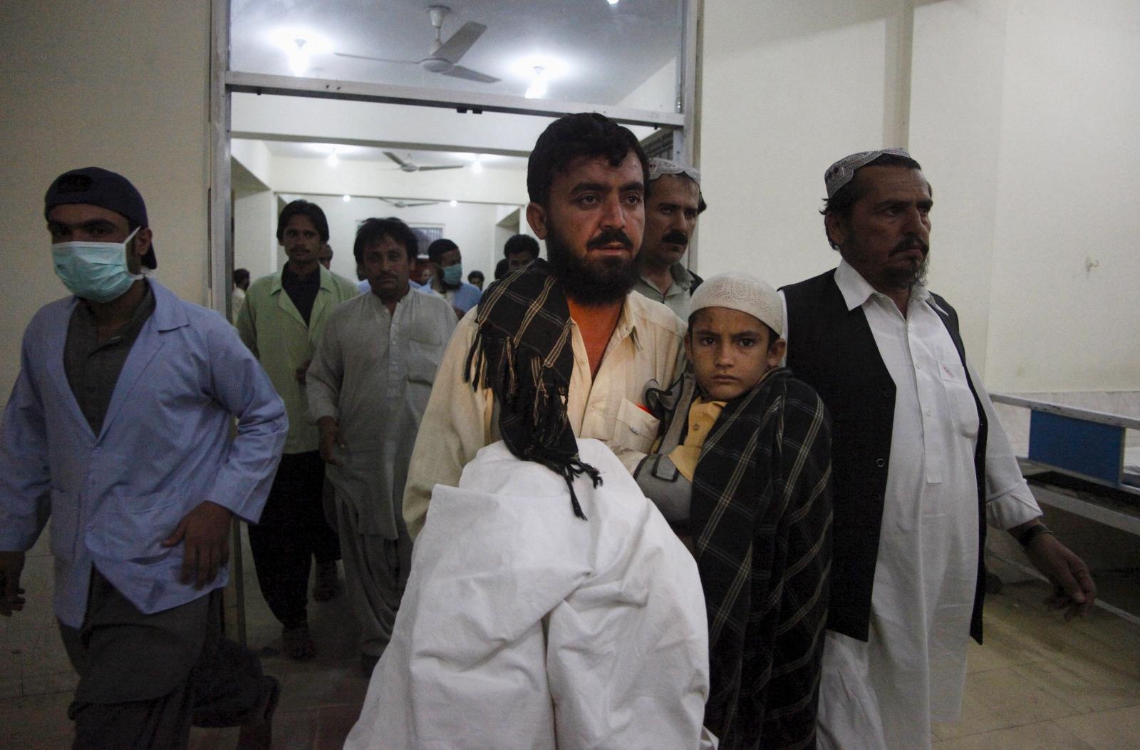 Pakistan Karachi bus attack