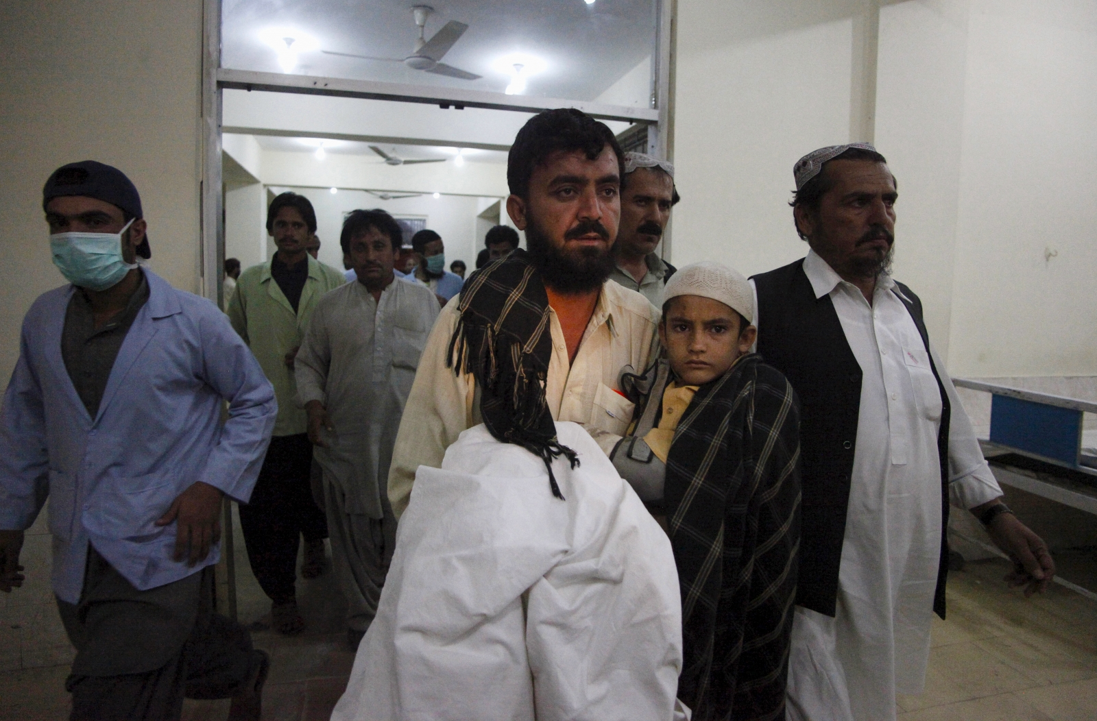 Pakistan Karachi bus attack