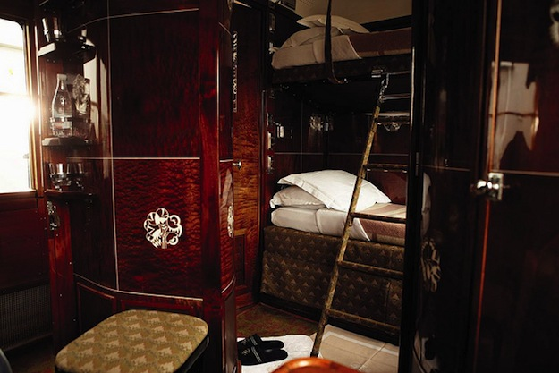 Cabin on the Orient Express