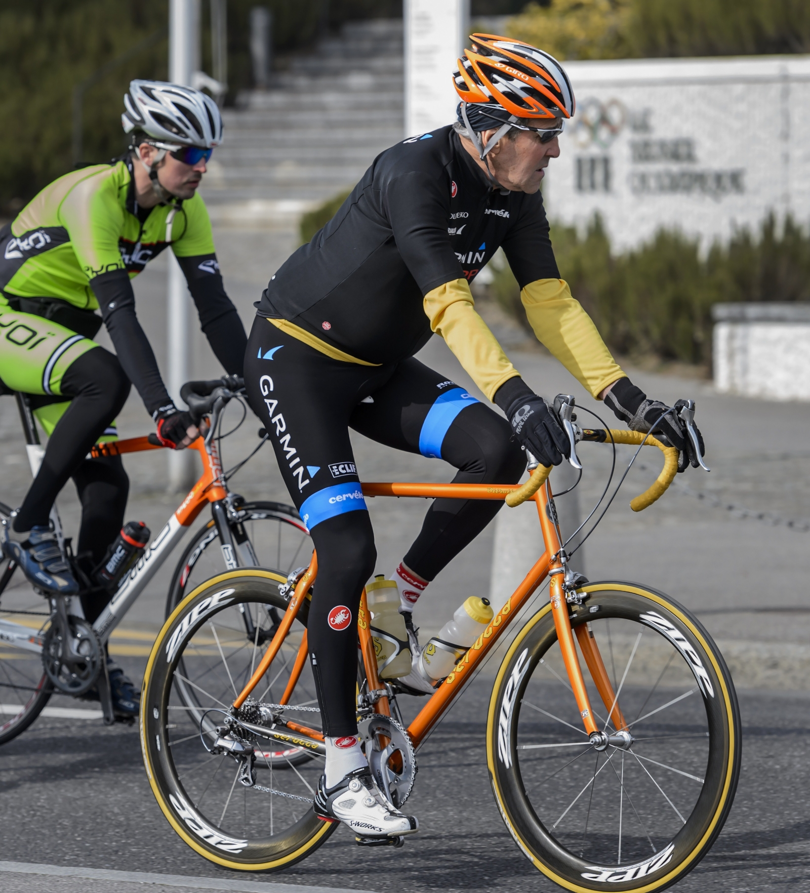 John Kerry cycling