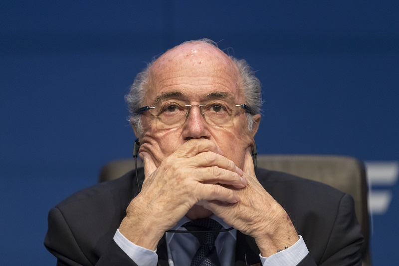 Seb Blatter 30 May