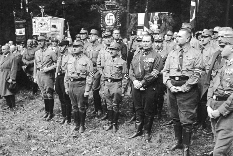 Nazis at Harzburger Conference 1931