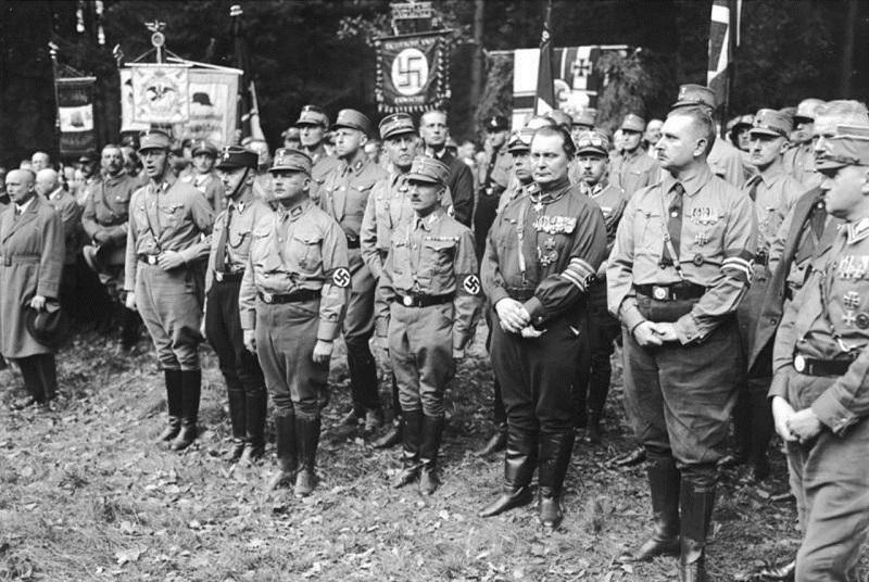 Nazis at Harzburger Conference 1931