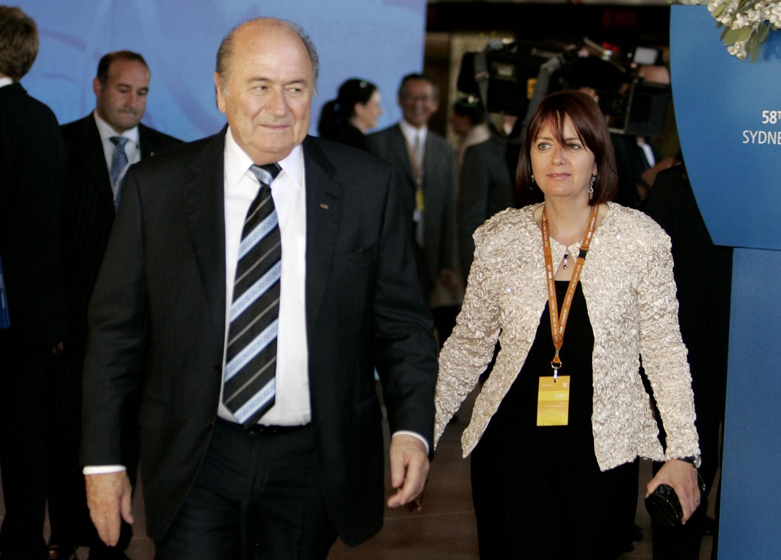 Sepp and Corinne Blatter