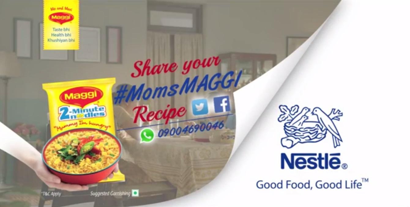 Maggi Noodles ad