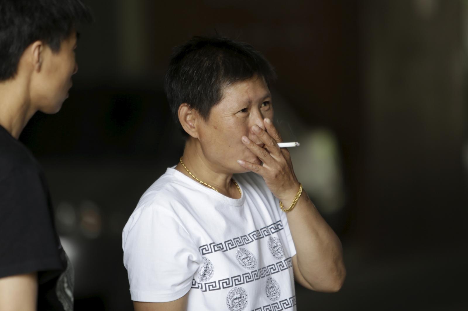 China smoking ban in Beijing