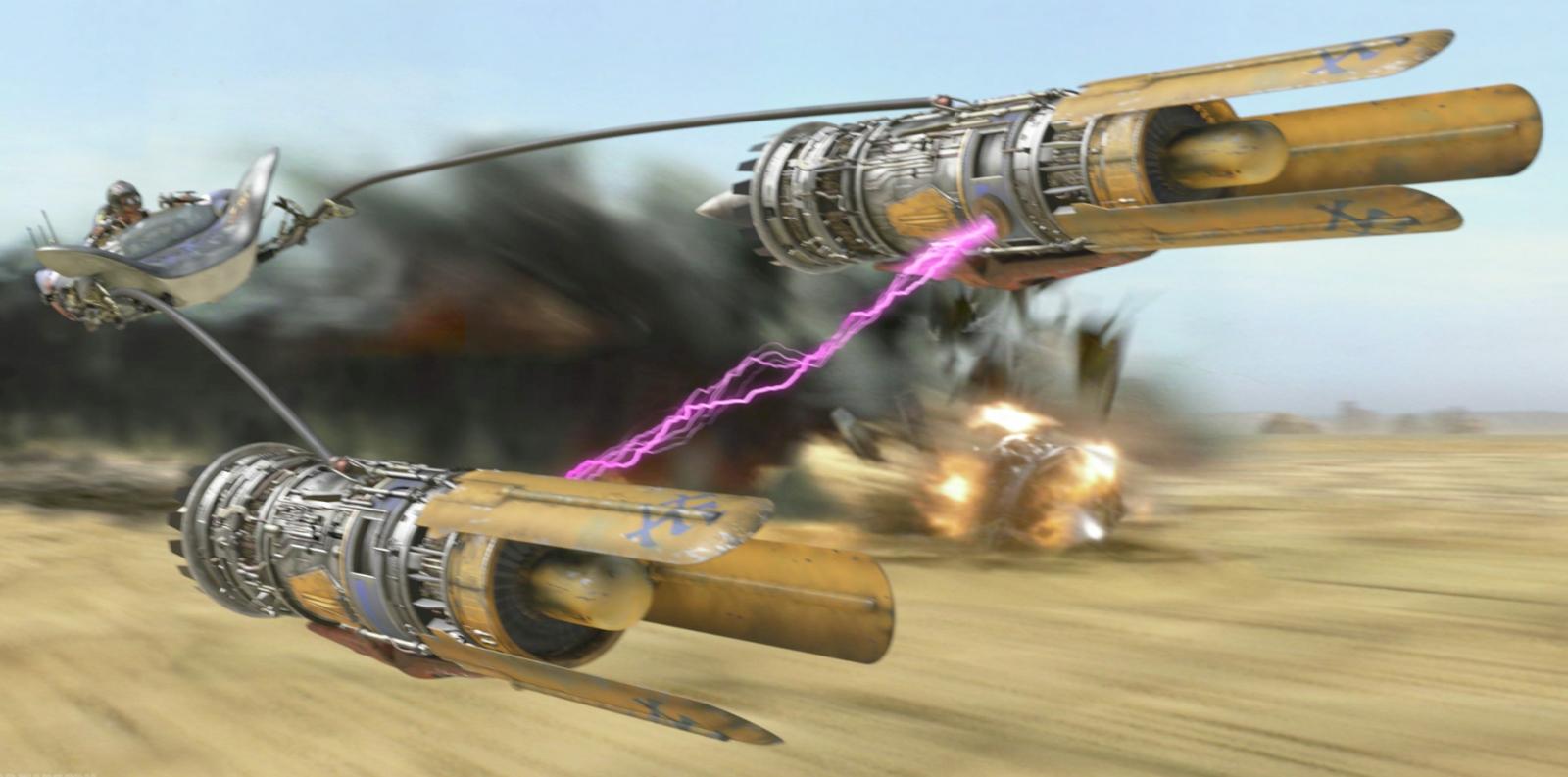 Anakin Skywalker's podracer in Star Wars