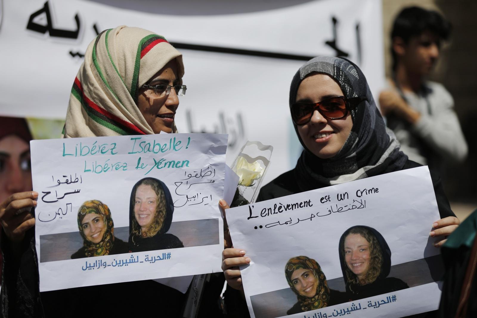 Isabelle Prime French Hostage Yemen